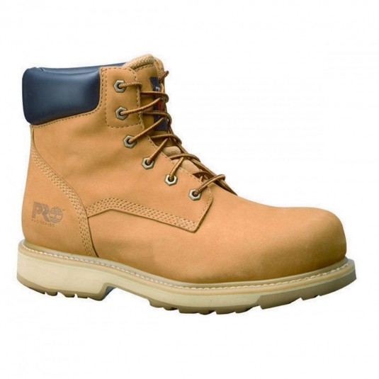 Timberland Pro Traditional Safety Boots In Wheat