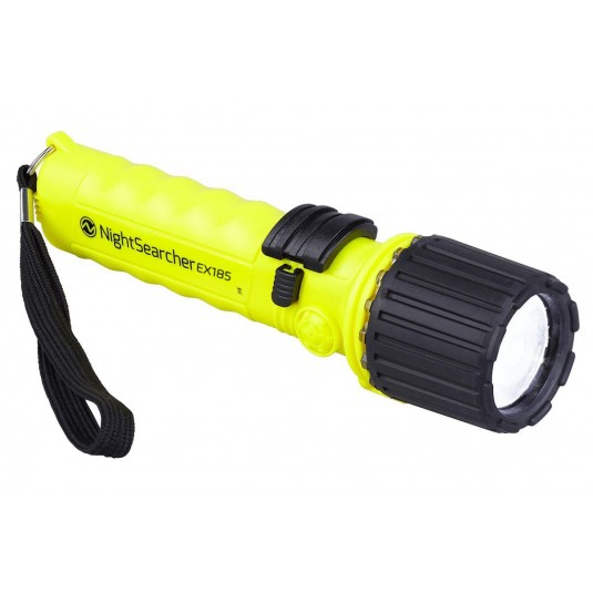 Nightsearcher EX-185 Intrinsically Safe Flashlight