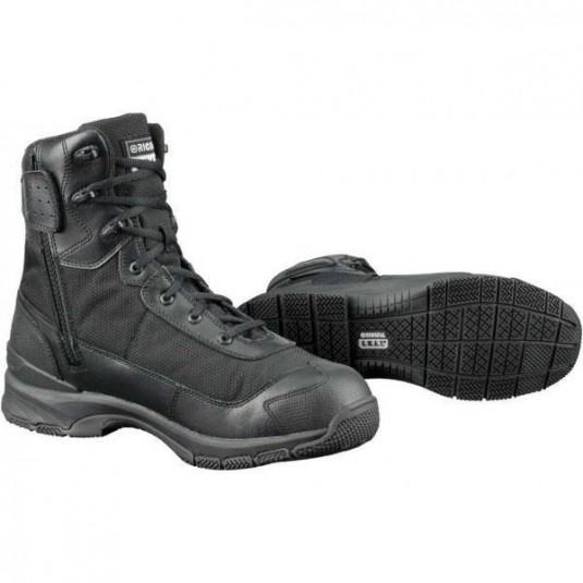 "Original SWAT HAWK 9"" Waterproof Side Zip EN Lightweight Boots Black"