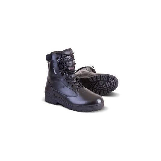 Kombat UK All Leather Patrol Boot In Black