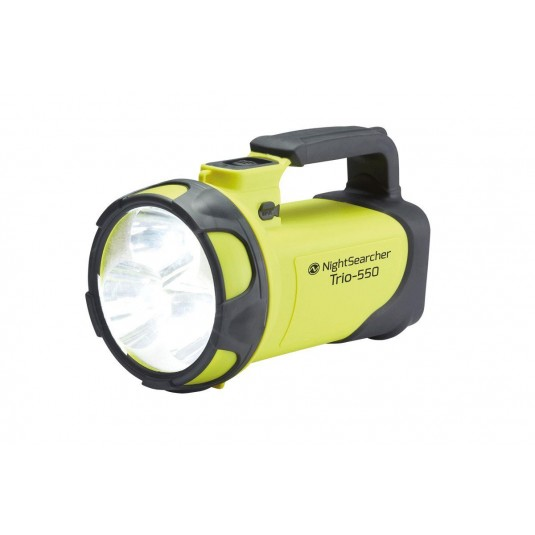 Nightsearcher Trio 550 LI-ION Searchlight Yellow/Grey