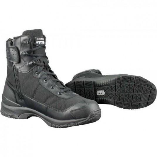 """Original SWAT HAWK 9"""" Side Zip EN Lightweight Tactical Boots Black"""