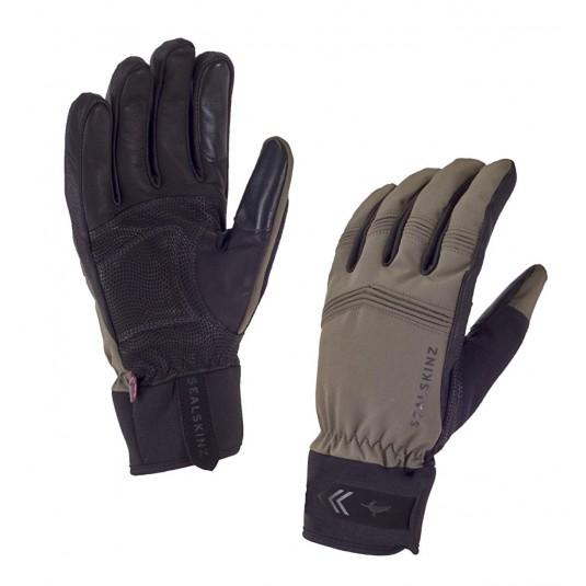 SealSkinz Performance Activity Waterproof Gloves Olive Green/Black