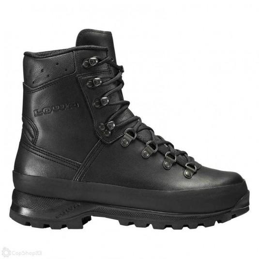 Lowa Super Camp Boots In Black