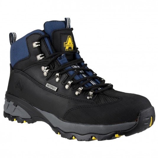 Amblers Safety FS161 Waterproof Lace up Hiker Safety Boot Black