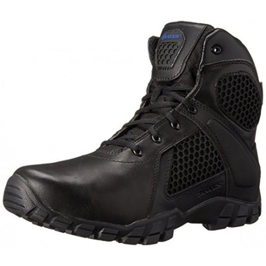 """Bates Tactical Strike 6"""" Side Zip Waterproof Boots Black"""