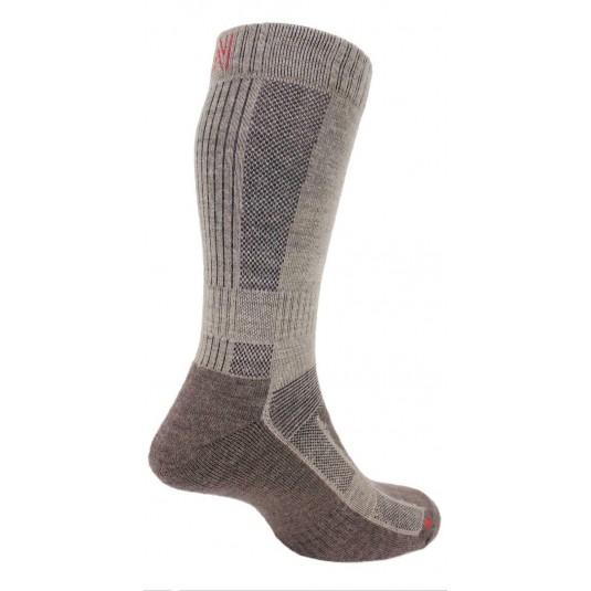 Norfolk Leonardo Ultimate Merino Wool Walking Sock with Cushioning In Brown