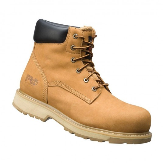 Timberland Mens 6201060 Lace Up Leather Safety Ankle Boot