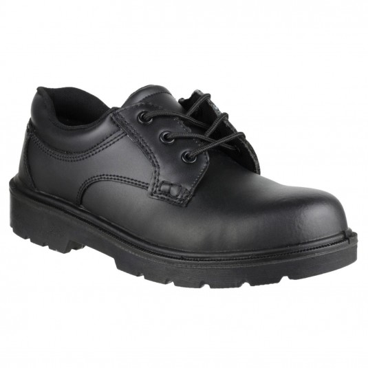 Amblers Safety FS38C Metal Free Composite Gibson Lace Safety Shoe Black