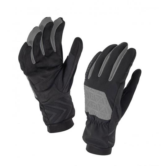 SealSkinz Helvellyn Waterproof Gloves Black/Grey