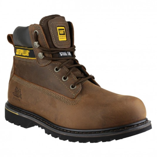 Caterpillar Holton Lace Up Boot Brown