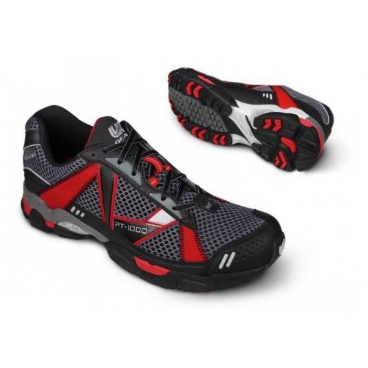UK Gear PT-1000 SC Trail Running Shoe Black/White/Red