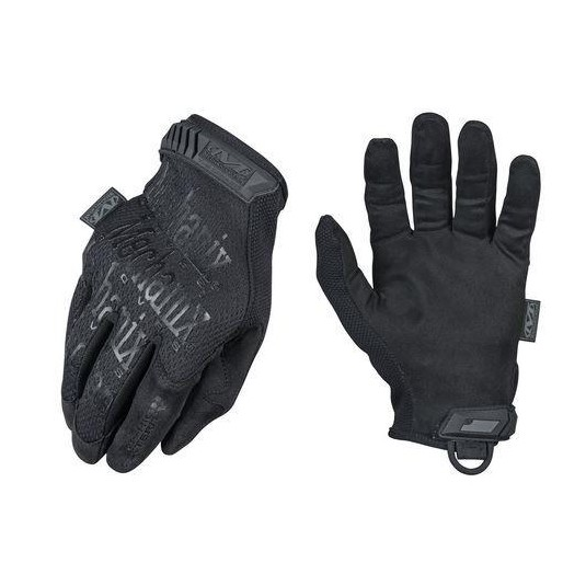 Mechanix Wear Original 0.5 MM Covert Gloves Black
