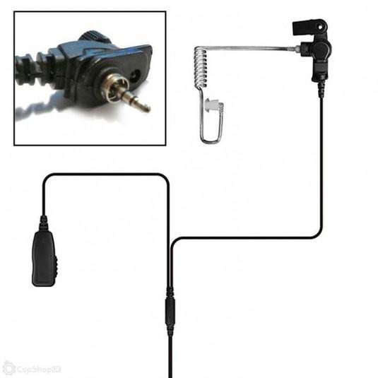 Tactical Jack Semi-Covert Earpiece For MTH800 Motorola Radio System