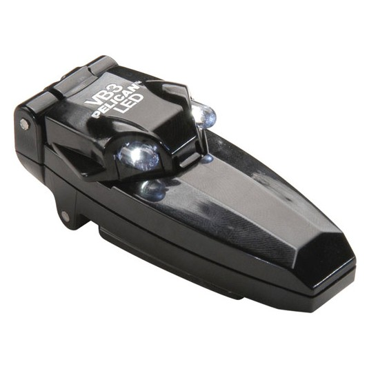 Peli Versabrite III w/ Klick Fast Dock Black
