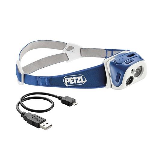 Petzl Tikka R Plus Headtorch Blue (E92RB)
