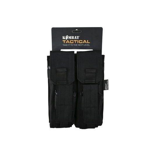 Kombat UK Double Mag Pouch with PISTOL Mag