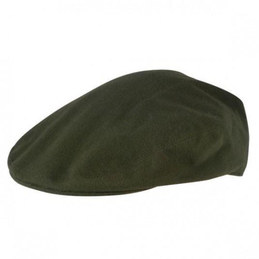 Jack Pyke Wax Flat Cap - Green