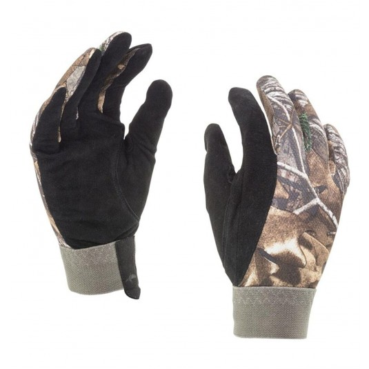 SealSkinz Solo Camo Shooting Non Waterproof Gloves Realtree