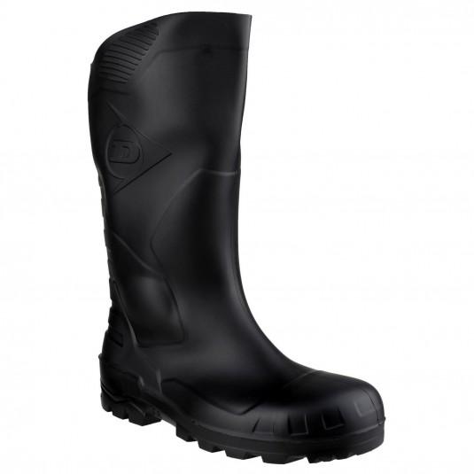 Dunlop Devon Full Safety Wellington Black