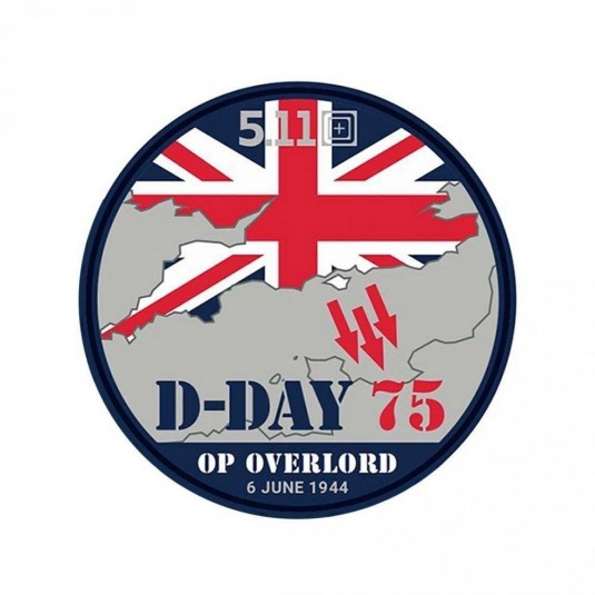 5.11 D-Day Limited Edition Patch