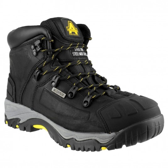 Amblers Safety FS32 Waterproof Safety Boot Black