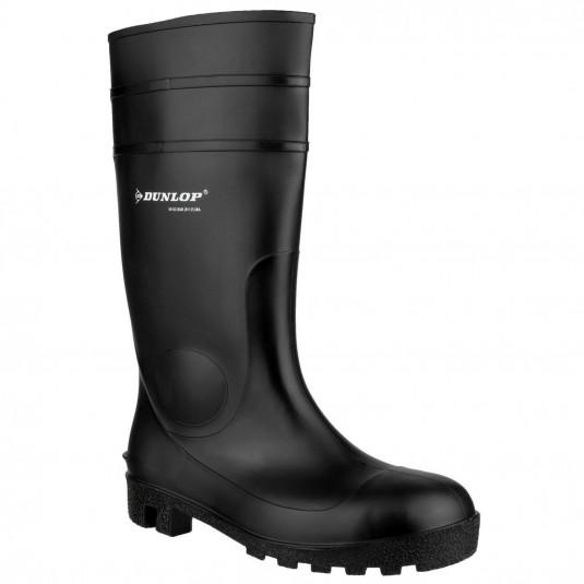 Dunlop Protomastor Full Safety Wellington Black