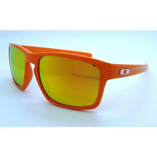 762cb897b9 Oakley Sliver Fingerprint Sunglasses Atomic Orange w Fire Iridium ...