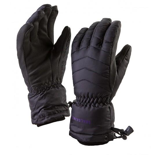 SealSkinz Womens Sub Zero Waterproof Gloves Black