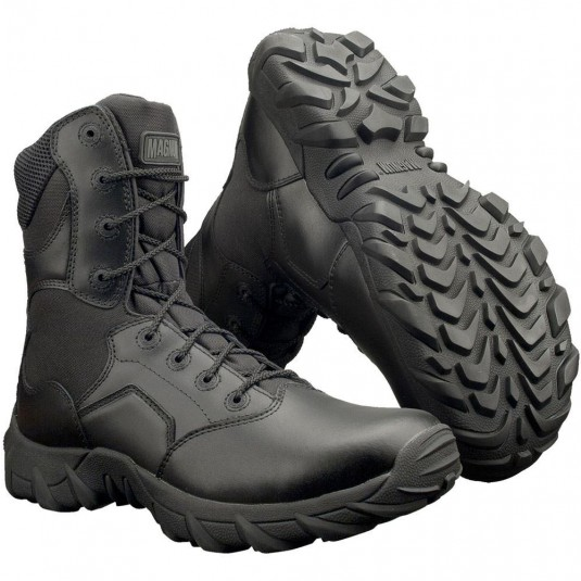Magnum Cobra 8.0 Side Zip Waterproof Boot In Black