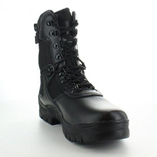 Highlander Mens Task Force 1 Leather Military Combat Boot