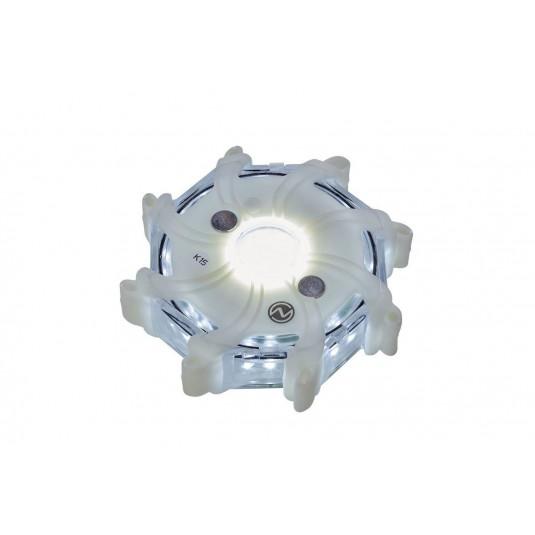 Nightsearcher Pulsar-Pro Hazard Lights White Set Of 5