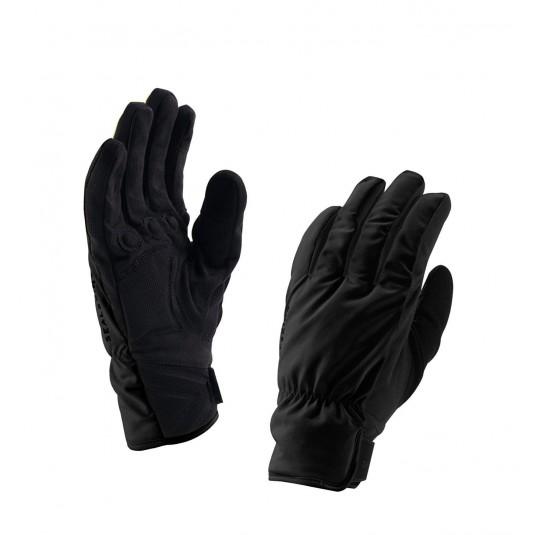SealSkinz Womens Brecon Waterproof Gloves Black