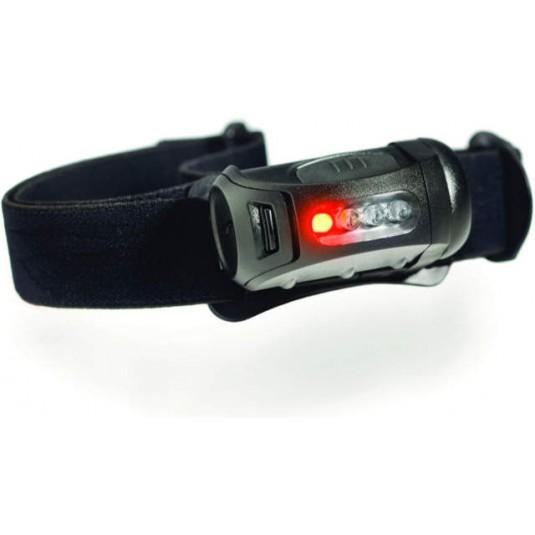 Princeton Tec FRED MPLS Helmet Torch Black