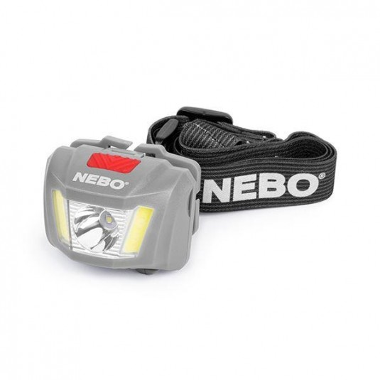 Nebo Duo LED Headlamp Light 250 lumen Fishing Camping Running 6444 Black