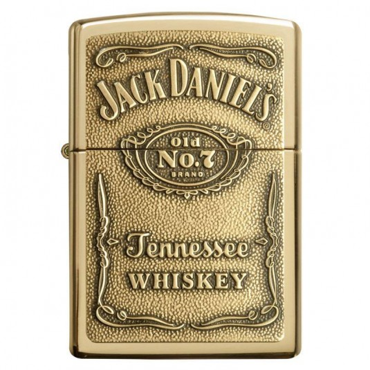 Zippo Jack Daniels Brass Lighter