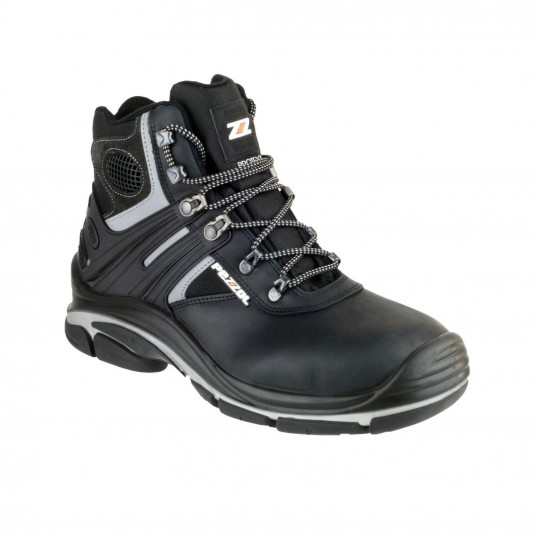 Pezzol Tornado Hi 566 Mens Safety Boots Black