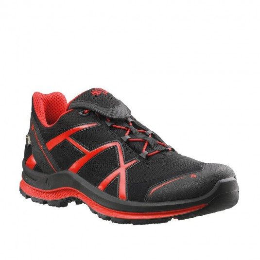 Haix Black Eagle Adventure 2 GTX Low Black/Red