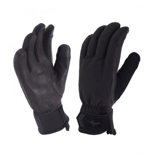 SealSkinz Womens All Season Waterproof Gloves Black/Grey