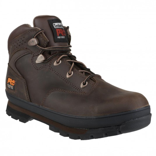 Timberland Pro Euro Hiker Lace-up Safety Boot Brown Oiled