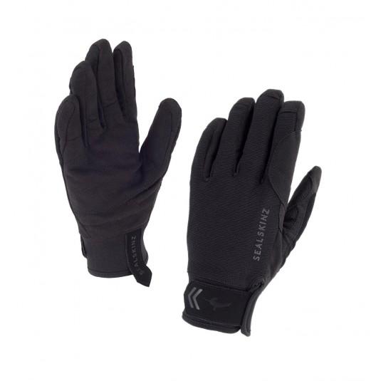 SealSkinz Womens Dragon Eye Waterproof Gloves Black/Grey