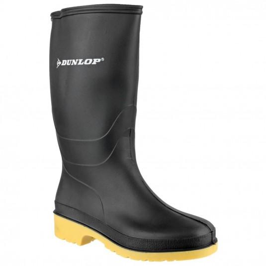 Dunlop Dulls Wellington Boot Black