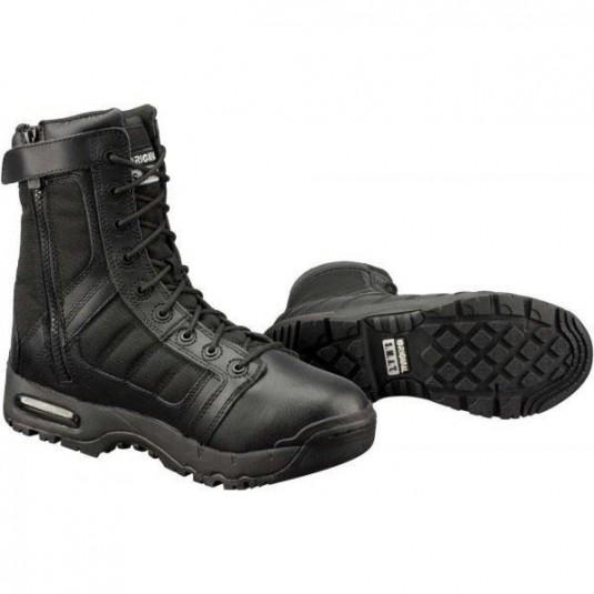 "Original SWAT Metro Air 9"" Side Zip Black Boots"