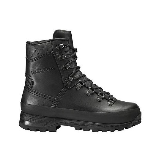 Lowa Womns Super Camp 2 Boots In Black