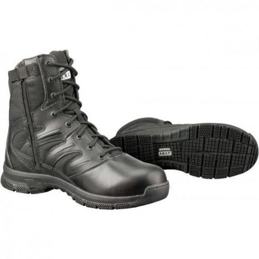 """Original SWAT Force 8"""" Tactical Side Zip EN Lightweight Black Boots"""
