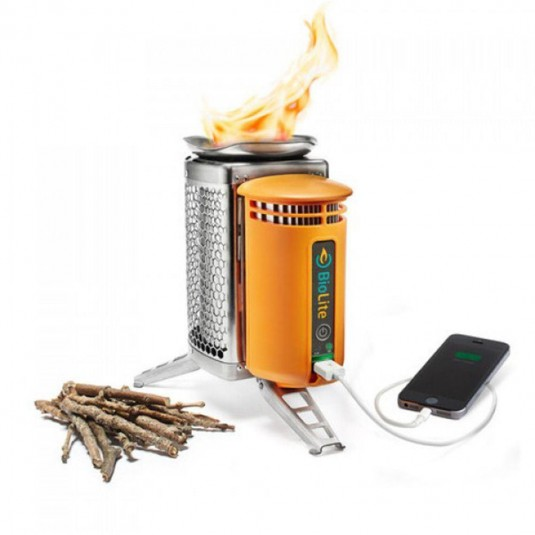 BioLite Bl1 Wood Burning Camp Stove with USB