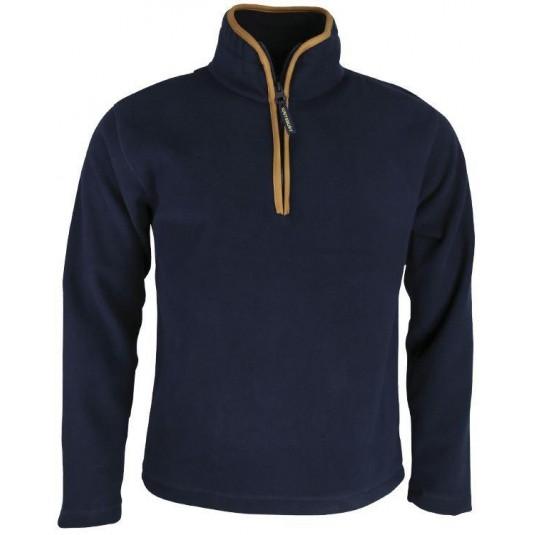 Kombat UK Pullover Country Fleece Navy Blue