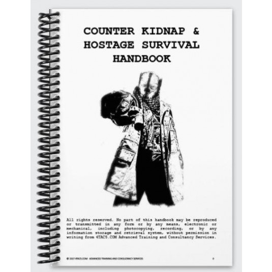 Counter Kidnap & Hostage Survival Handbook