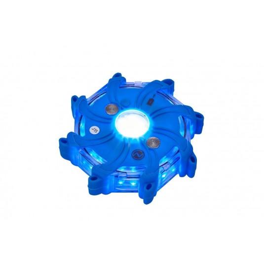 Nightsearcher Pulsar-Pro Hazard Lights Blue Set Of 5