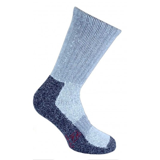 Norfolk Nasuh Fully Cushioned Thermal Hiking Socks In Blue